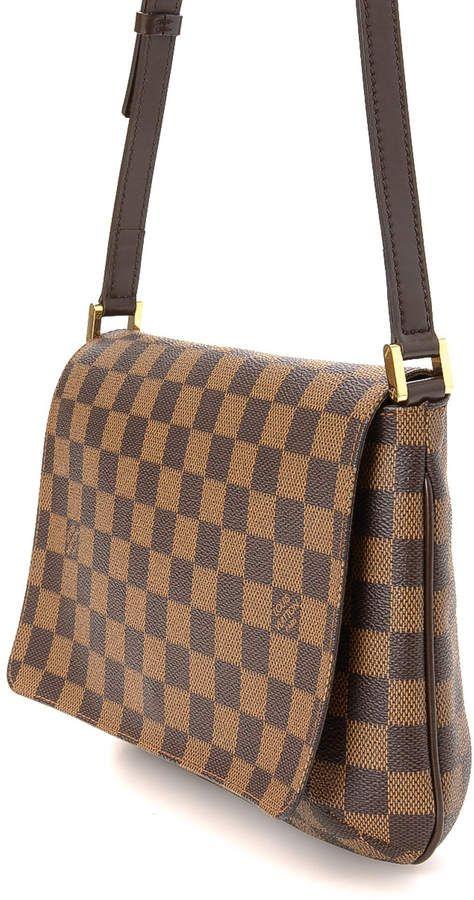c15e73c012d1 Louis Vuitton Musette Tango Short Ebene Shoulder Bag - Vintage  Musette  Tango Louis