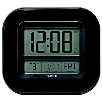 AcuRite Wireless Atomic Digital Indoor Clock with Thermometer