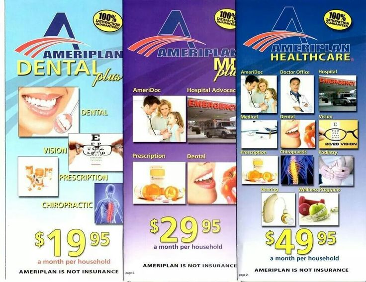 Medical, Dental, and Vision plan for ONLY 49.95/mo per