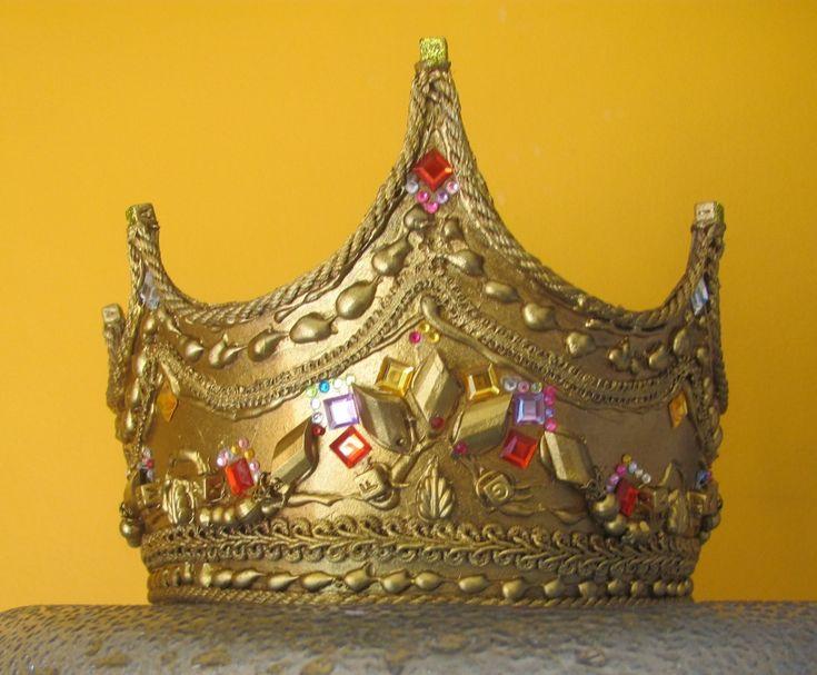 Как сделать царскую корону своими руками
