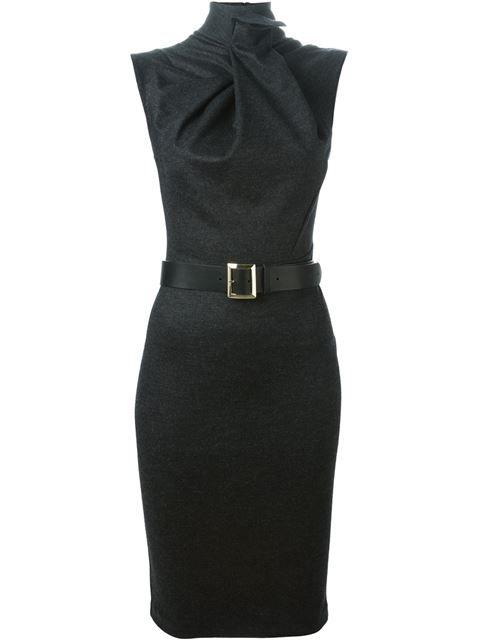 Dsquared2 Drapiertes Kleid mit Gürtel von Coltorti