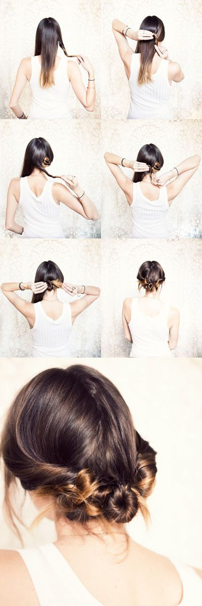 Cinnamon Buns | 24 Statement Hairstyles For Your New Year's Eve Party