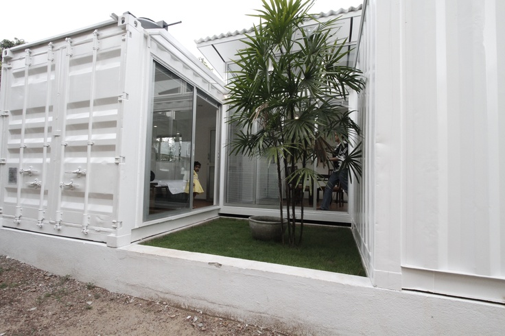 Hybrid homes now available in sri lanka modern eco for Smart house container