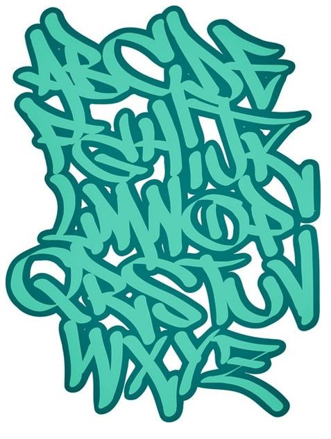 Alfabeto De Letras De Graffiti Graffiti Alphabet Letters