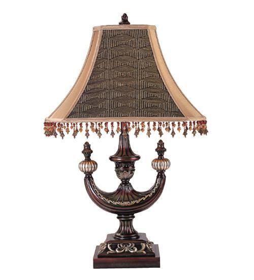 "29""H Alhambra Oblong Victorian Desk Lamp"
