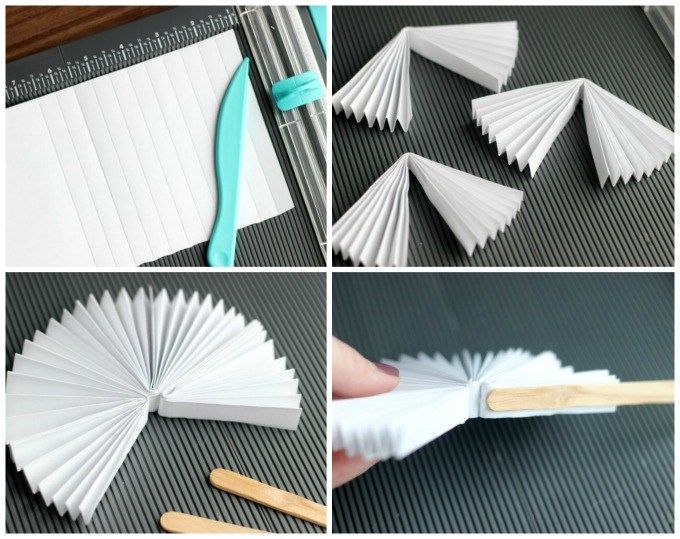 DIY Craft: This DIY pocket fan fold up & store perfectly in a pocket for hot days. It is such a unique and fun craft idea for kids! They can decorate the front with simple artwork then secure with popsicle sticks & a rubber band!