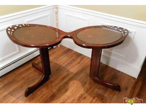 Mesa lentes Para los fanáticos de los lentes, esta mesa muy copada! la comprarías?
