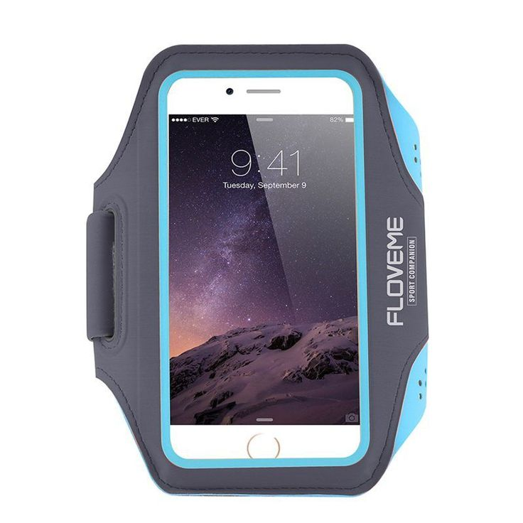 FLOVEME Sports Armband for iPhone 7 6 6s 5S for Samsung S6 S6 Edge S5 S4 S3 Touch 4.7 inch Fitness Running Work out Cover