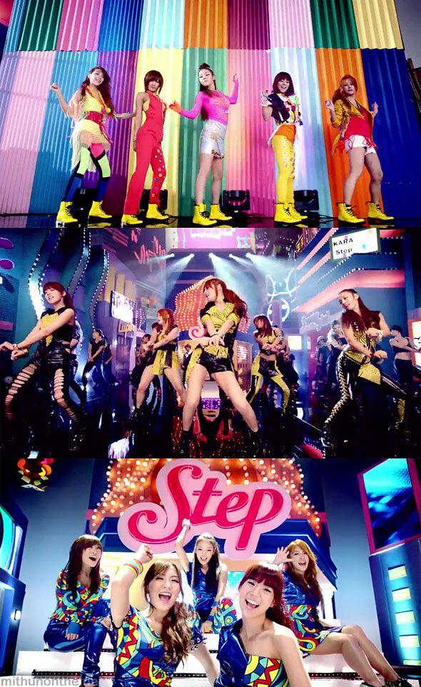 #Kara Step MV screencap http://mithunonthe.net/2011/09/11/kara-step-new-album-review-kpop-girl-group/ #kpop #girlgroup