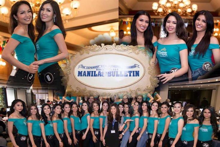 Binibining Pilipinas 2017 contestants visit Manila Bulletin