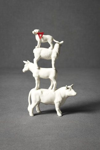 Four-Footed-Fete Cake Topper.