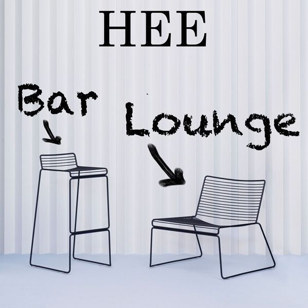 HEE Lounge Chair by HAY, comfort at its best - deco and design