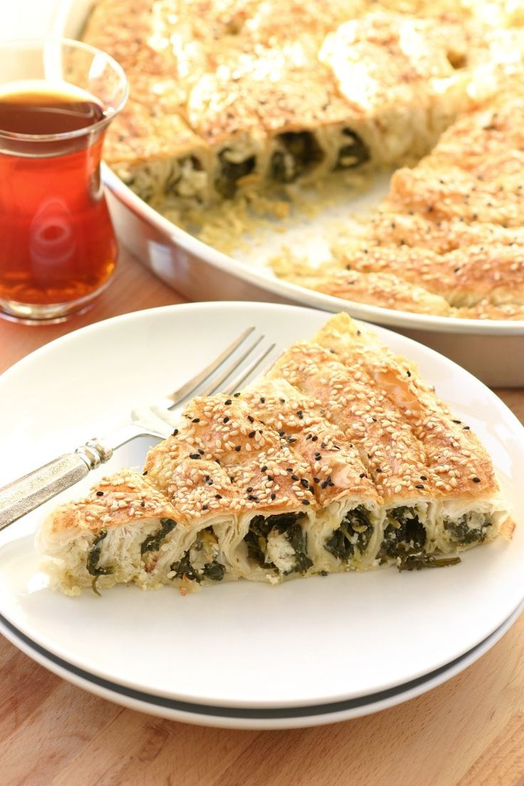 An egg- and dairy-free version of a Turkish cuisine favorite, this Vegan Spinach and Cheese Börek recipe is just as delicious as the original.