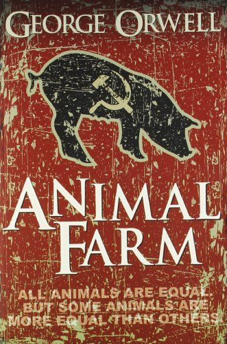 animal farm by george orwell portraying Free essay: the novel animal farm, by george orwell, is an allegory portraying the evils and pitfalls of a totalitarian government it attempts to illustrate.