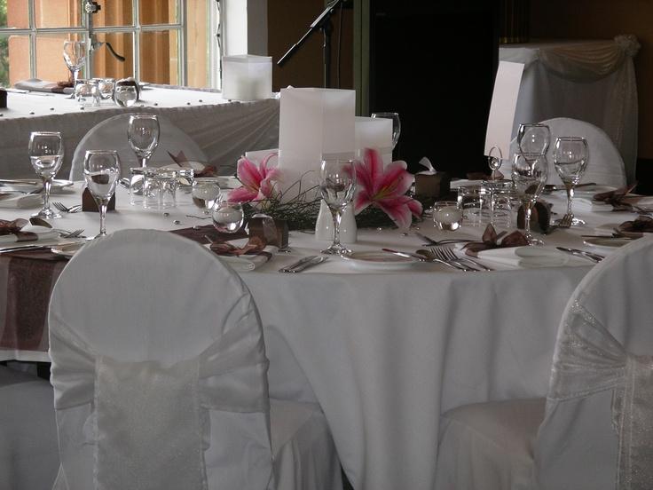 #hurricanevessels #weddingcentrepiece #lilies