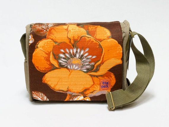Rhoda  saddlebag customized with original vintage by EllaOsix