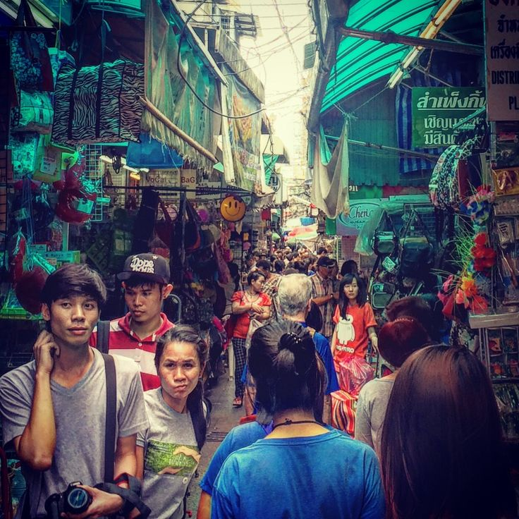 Chinatown markets in Bangkok #Thailand