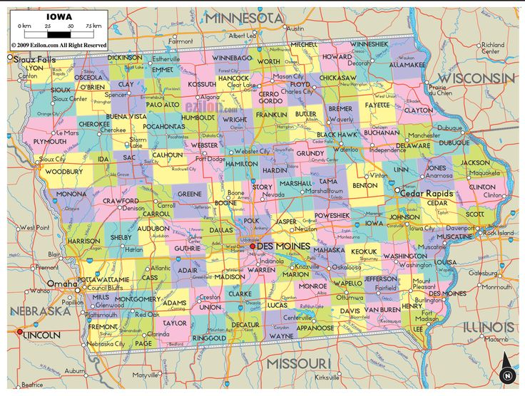 Best Iowa Images On Pinterest Iowa State United States And Iowa - Cities in iowa map