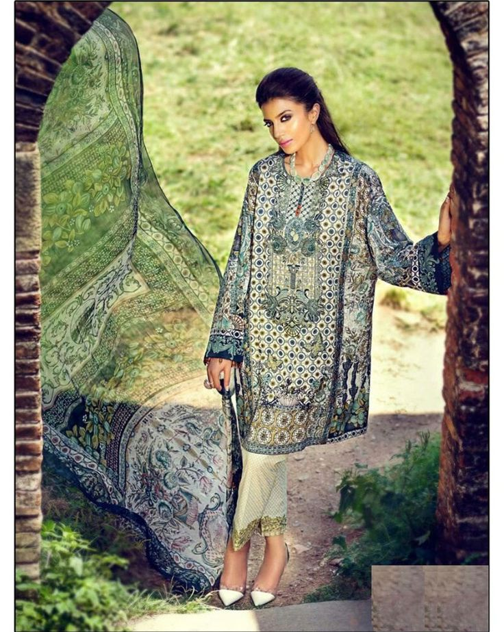 King Sales New Green Cotton Satin Printed Pakistani Suit ..TOP FABRIC			: Cotton Satin Printed ..TOP COLOR			: Green ..TOP LENGTH			: 46 Inches ..TOP SIZE			: Up To 62 ..BOTTOM FABRIC		: Semi Loan ..BOTTOM COLOR		: Cream ..BOTTOM SIZE			: 2.75 Mtr ..DUPPATTA FABRIC		: Chiffon Printed  ..DUPPATTA COLOR		: Green ..STYLE				: Pakistani Suit ..WORK				: Embroidery With Printed ..OCCASION			: Party, Festival, Events ..CATALOGUE NO		: KSA177-2014