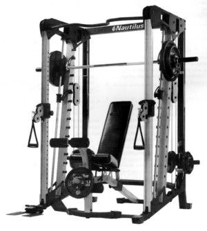 smith machine assembly