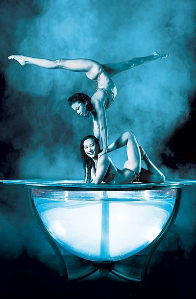 Zumanity Contortion Act - Cirque du Soleil @ York New York, Las Vegas - Lance and I have seen this show many times!!