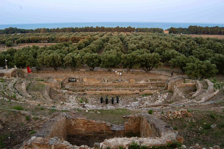 Parco Archeologico di Scolacium Roccelletta di Borgia Catanzaro  #TuscanyAgriturismoGiratola