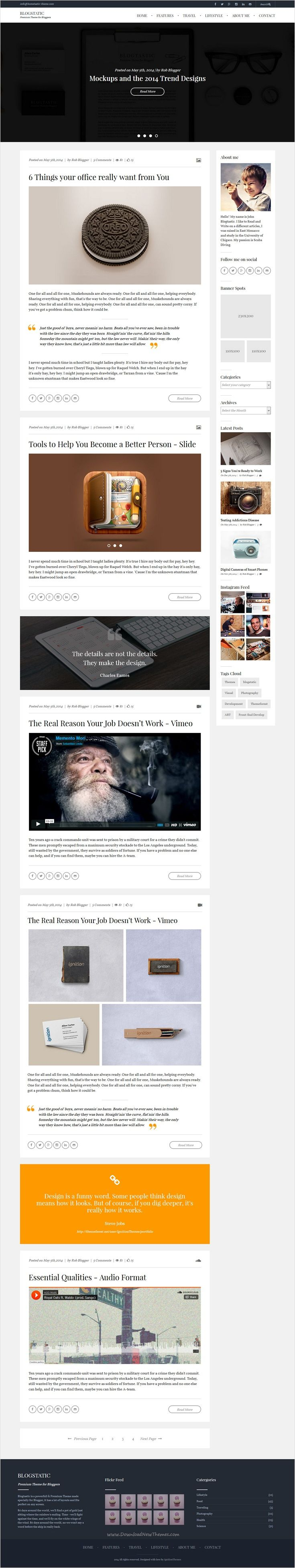 94 best Best Responsive Blogger Template Collection images on ...