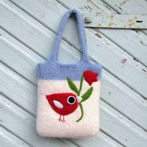 13 best Felt Bags images on Pinterest | Felted bags, Felt bags and ...