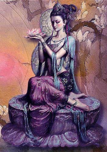 kuan yin...Mi Diosa del Amor ❤
