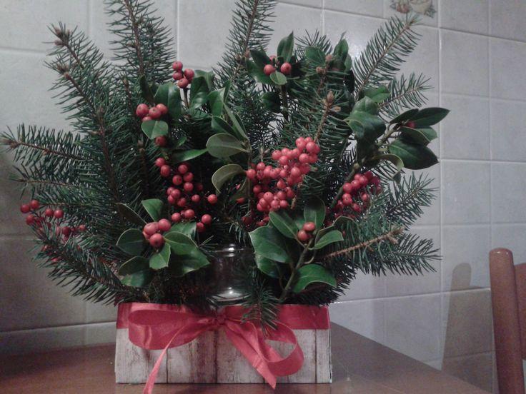scatola natalizia