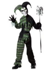 Rebecca wants this costume: Boys Jokes On You Evil Jester Costume - Party City