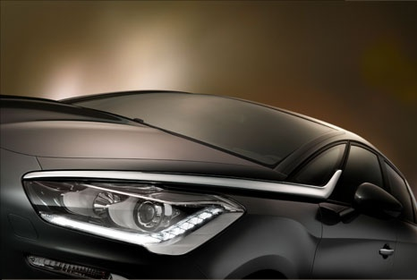 A daring and sculptural creation, Citroën DS5 perfectly expresses the DS spirit, with bold choices on styling, architecture, sensations and refinement. http://www.ds5.citroen.com/