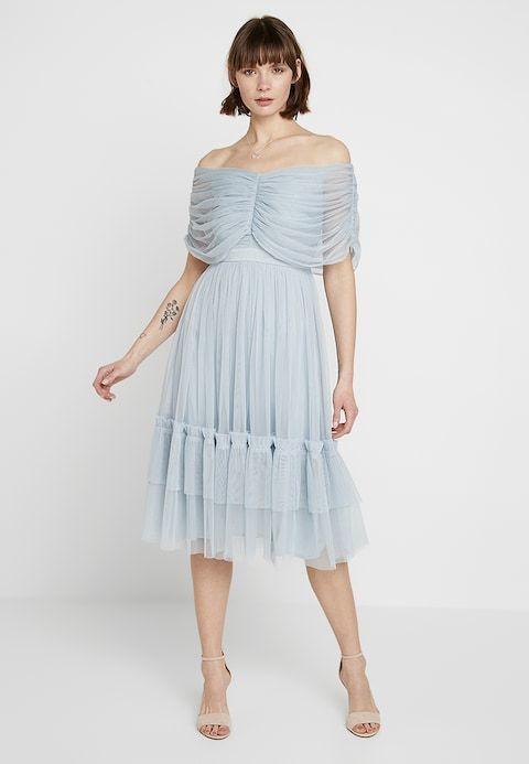 45ff947c0ff6a1 Anaya with love ANAYA WITH LOVE GATHERED BARDOT MIDI DRESS -  Cocktailkleid festliches Kleid -