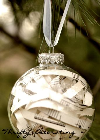 Glass Ball Ornament Craft