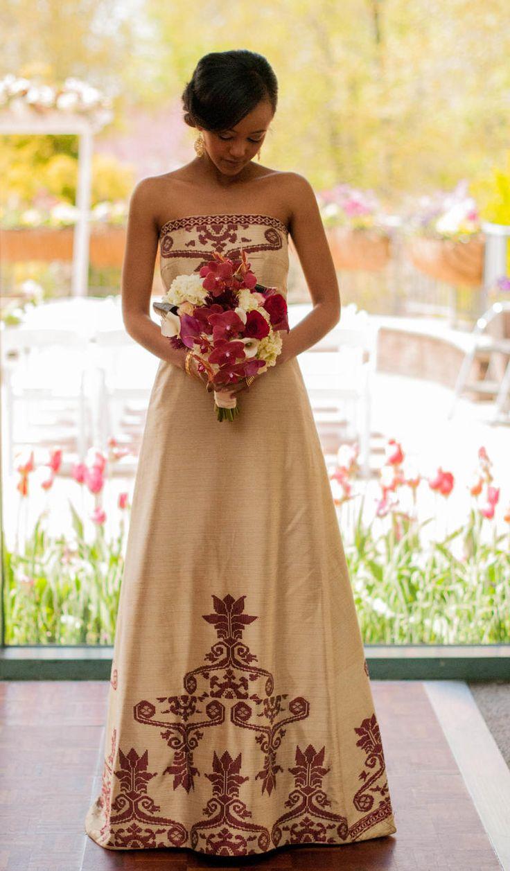 132 best habesha kemis images on pinterest ethiopian for Traditional ethiopian wedding dresses