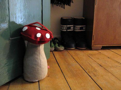 mushroom door stop