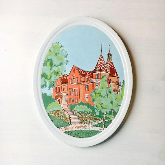Vintage Porcelain Wall Art  designed by Pia Rönndahl