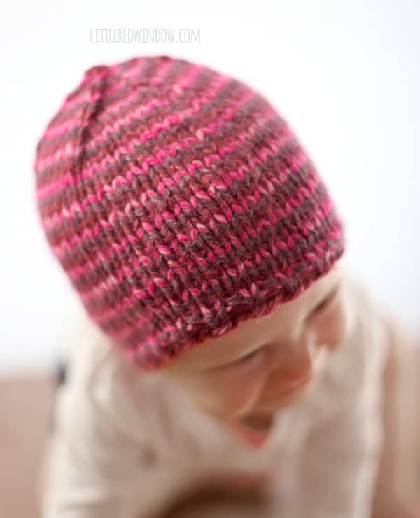 79ff0f38e The Do-Gooder Quick Knit Hat Free Knitting Pattern for Charity ...