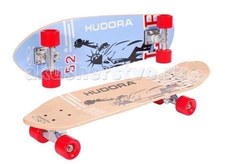 Hudora Скейтборд Cruiser ABEC 7  — 4900р. ----------------------  Hudora Скейтборд Cruiser ABEC 7 для занятия скейтбордингом или просто катания от 7 лет. Идеально подходит для начинающих из-за своей устойчивости!  Особенности: Доска изготовлена из высококачественного девяти-слойного канадского клёна Лента анти-скольжения (гриптейп) Двухсторонний дизайн Колёса широкие диаметром 45 мм х 60 мм Подшипники крейсерские - ABEC 7, хромированные, грязезащитная крышка с обеих сторон Размеры: 71 см х…