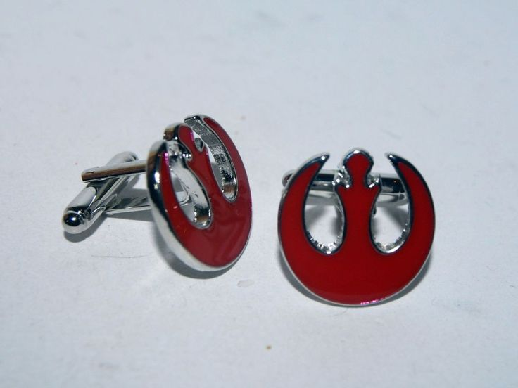 PAREJA DE GEMELOS DE LA ALIANZA REBELDE STAR WARS - REBEL ALIANCE CUFFLINKS