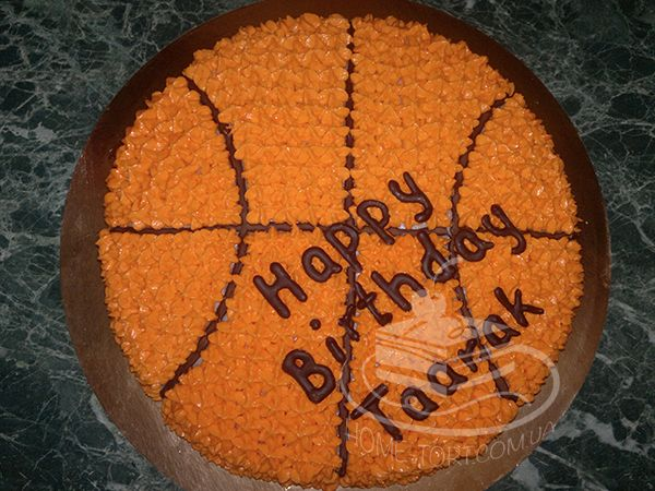 Торт Баскетбольный Мяч
