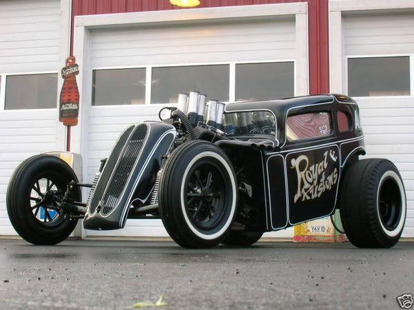 Rat Rod ~ too cool...
