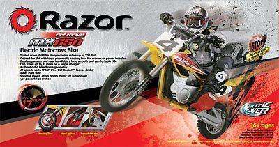 Razor Electric Dirt Bike