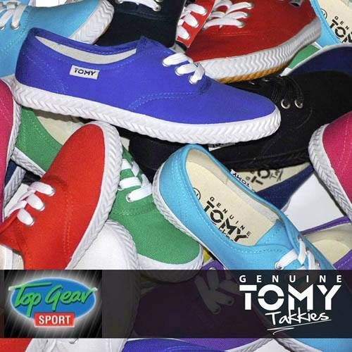 Spoil your loved one or even your best friend with a pair of Tomy Takkies from Top Gear Sport George. #sharing #tomytakkies #topgearsport