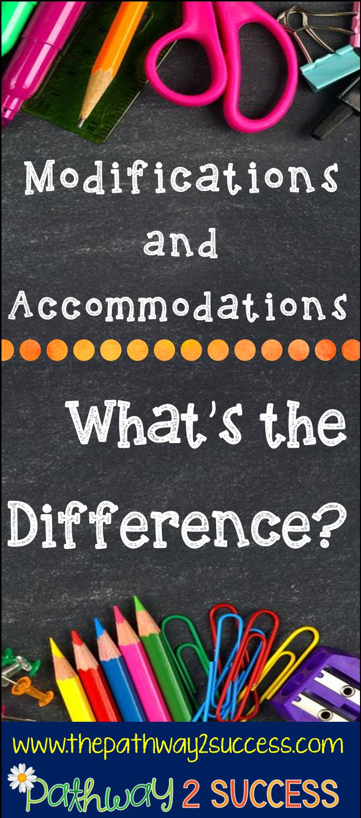 Modifications vs. Accommodations: What is the difference?