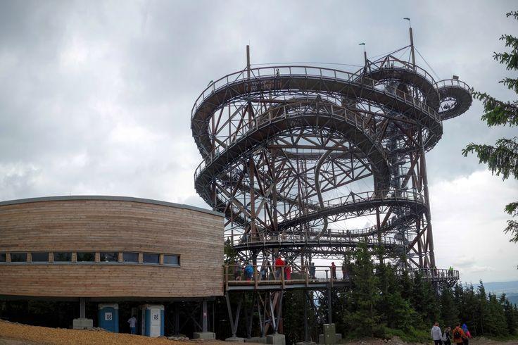 Fotka v albu Ramzová - Paprsek - Kladské sedlo - stezka v oblacích - Dolní Morava - Fotky Google