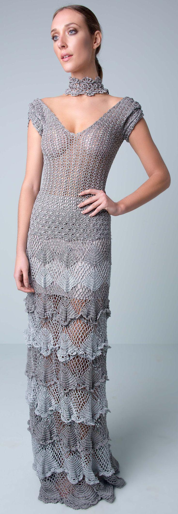 697 best ♡♥♡ robes au crochet - dress crochet images on Pinterest ...
