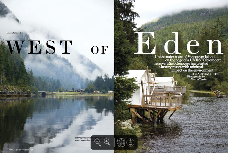 "Gold winner in Homes & Garden. ""West of Eden"" by Martin Tessler published in #Vancouver Magazine, 2007."