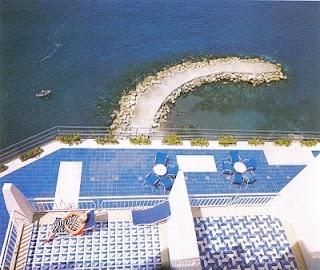 Giò Ponti, an Italian architect, designed and realized the first Italian design hotel – the Parco dei Principi – at Sorrento in 1960–1962. (Photo: Eugenio Bersani)