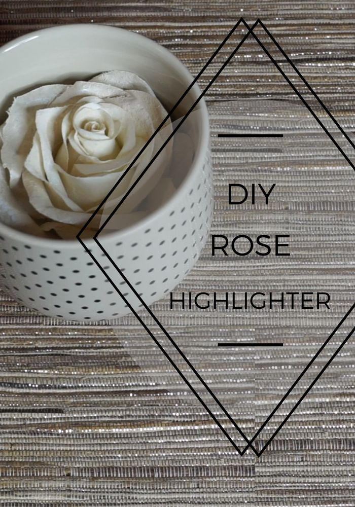 Why Buy A $60 Rose Highlight When We Can Show You How To DIY Your Own? via @PoisePurpose